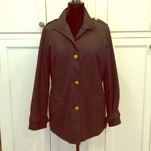 Brooks Brothers short lined military trench 10